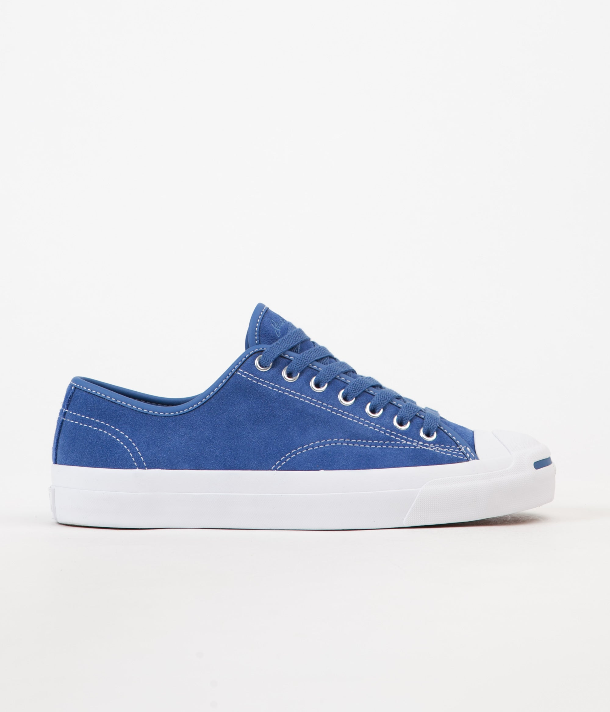 49074c49d42e4a Converse Jack Purcell Pro Ox Shoes - Nightfall Blue   Nightfall Blue   White