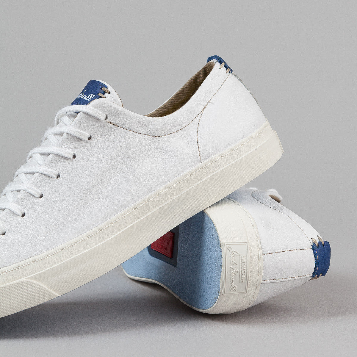 Converse JP Jack OX Shoes - White / Egret / Road Trip Blue