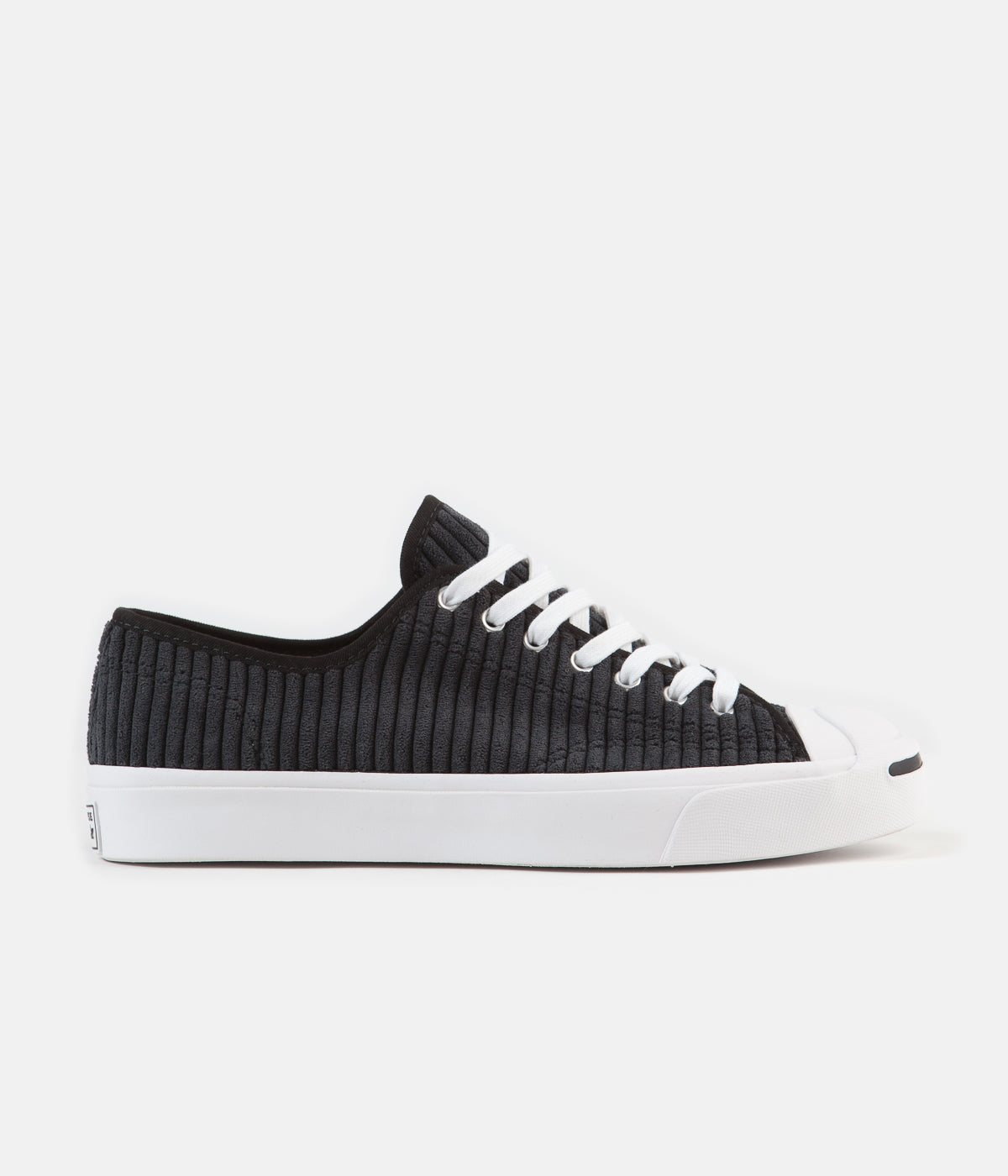 Converse JP Ox Wide Wale Cord Shoes - Black / White / Black
