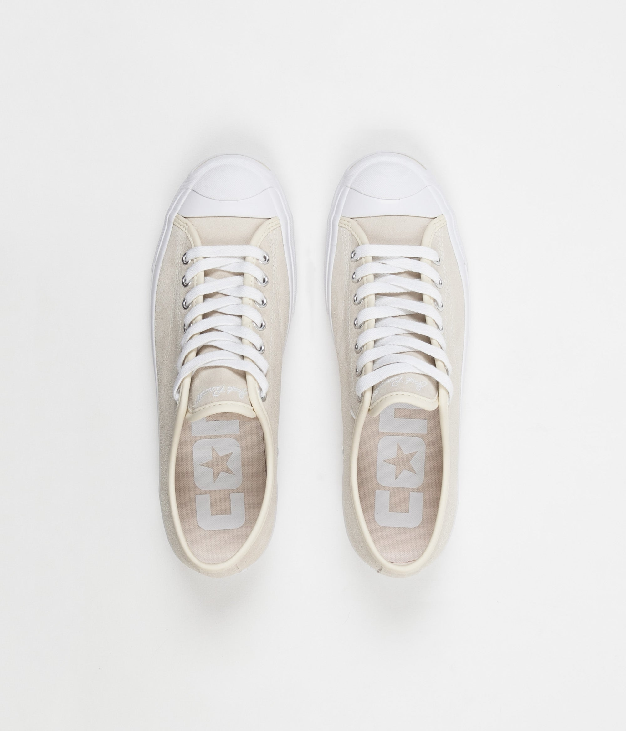 Converse JP Pro Ox Shoes - Natural / White / White