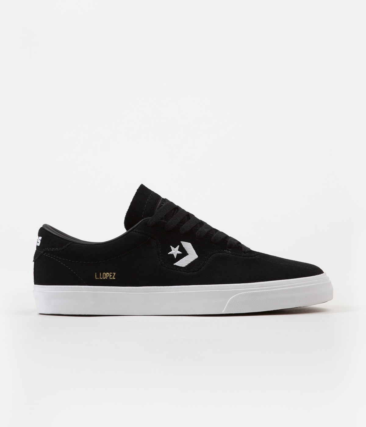 e4965cac744b Converse Louie Lopez Pro Ox Shoes - Black   Black   White