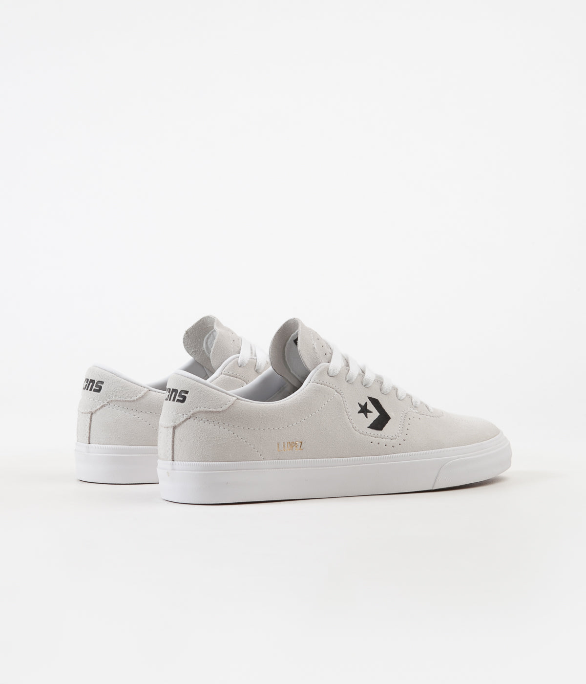 c47c37430d0a ... Converse Louie Lopez Pro Ox Shoes - White   White   Black ...