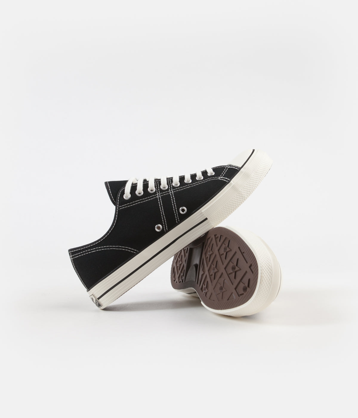 Converse Lucky Star Ox Shoes - Black / Black / Egret