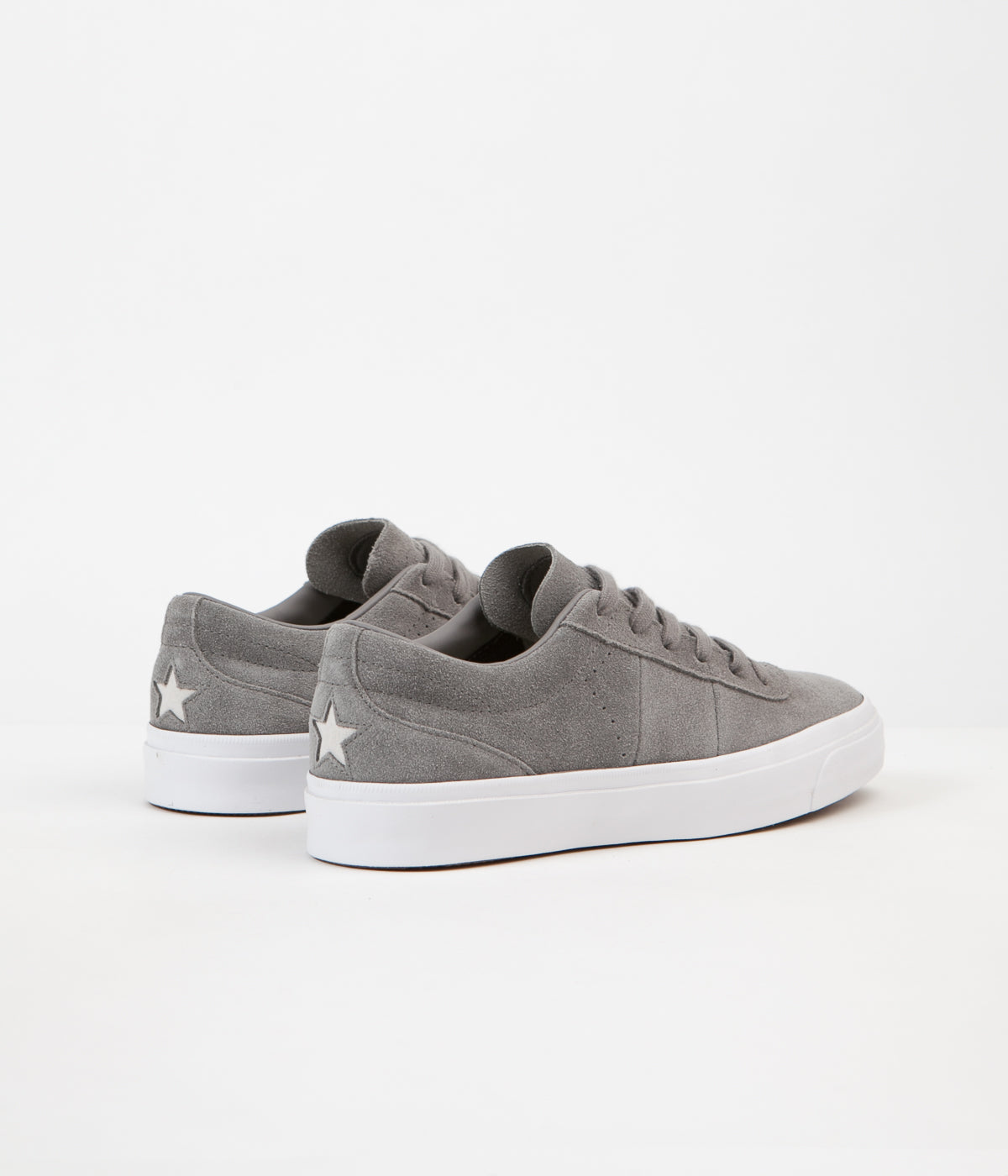 Converse One Star CC Ox Shoes - Charcoal Grey
