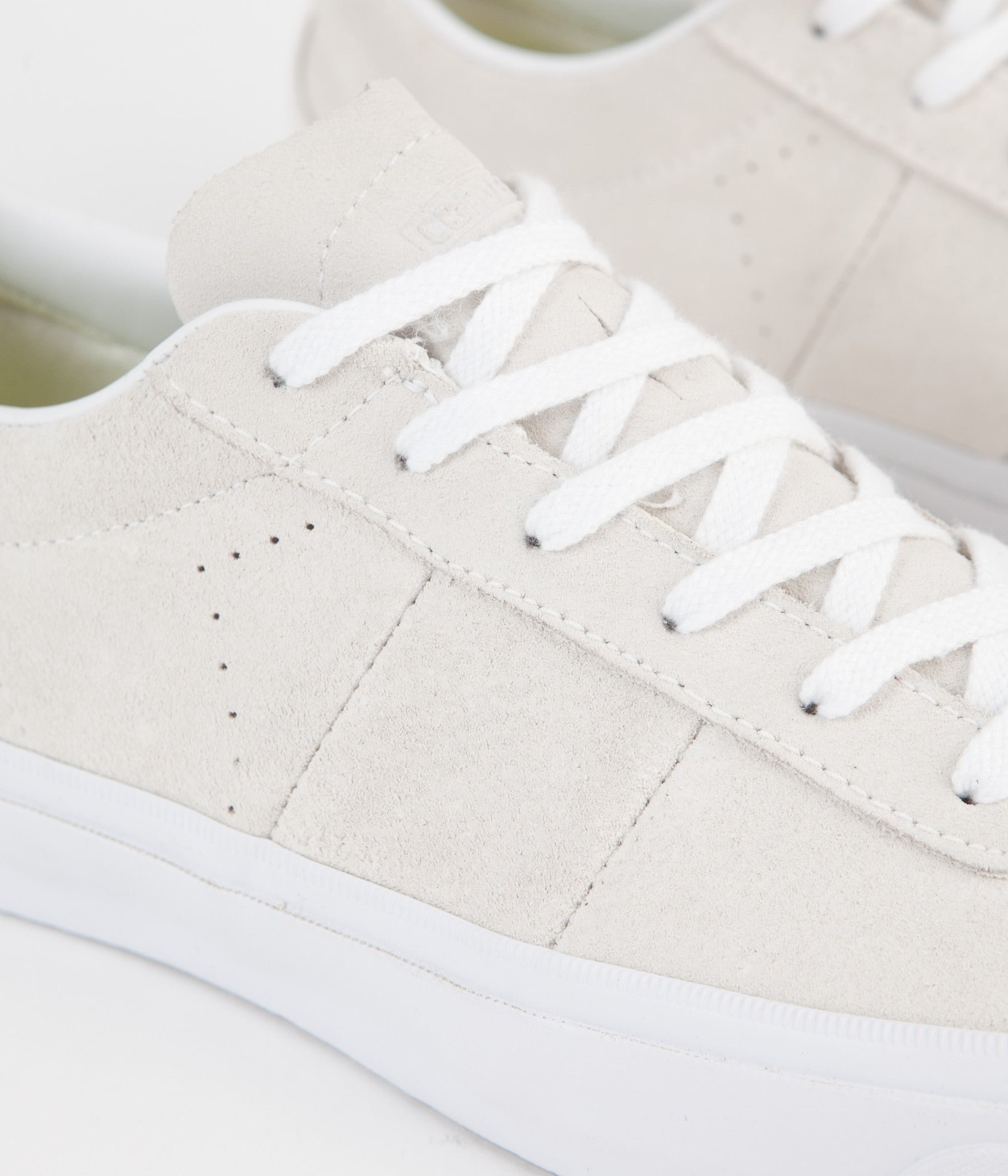 Converse One Star CC Ox Shoes - Egret / White / White