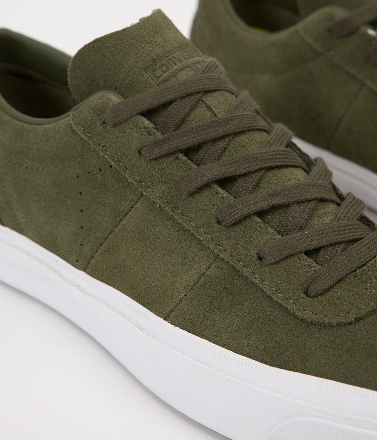 Converse One Star CC Ox Shoes - Herbal / Herbal / White