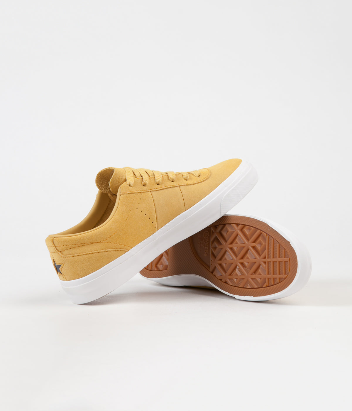 Converse One Star CC Pro Ox Shoes - Desert Marigold / Turmeric Gold