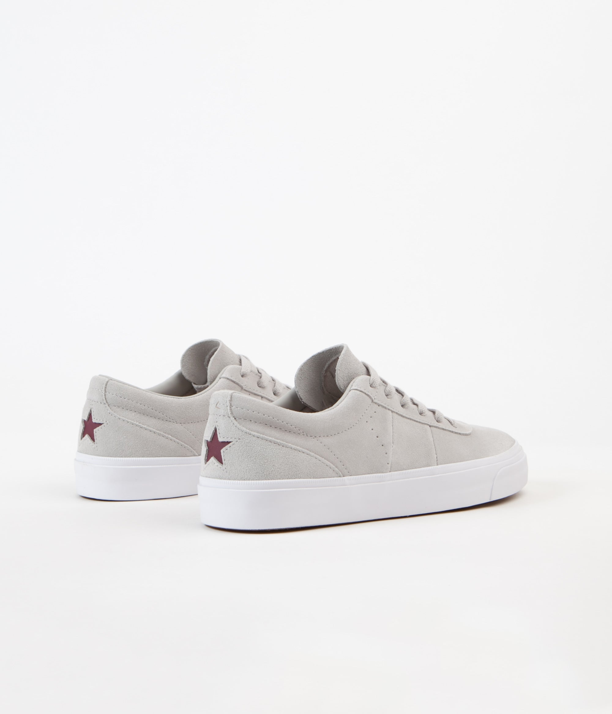 9cf8b9b19b7bd9 ... new style converse one star cc pro ox shoes pale grey pale grey deep  bordeaux 3573d