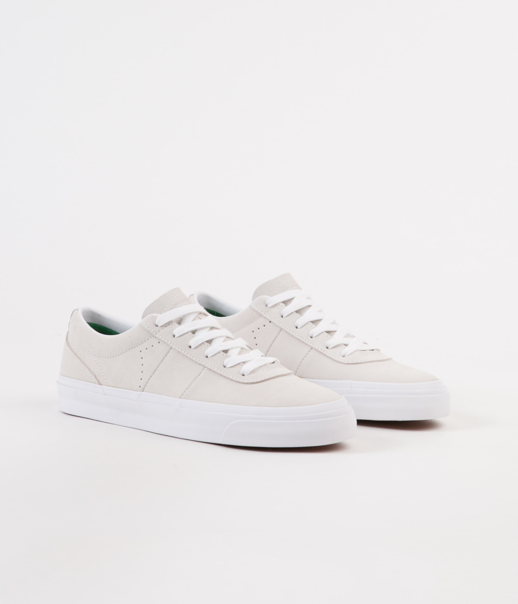 Converse One Star CC Pro Ox Shoes - White / Green / White