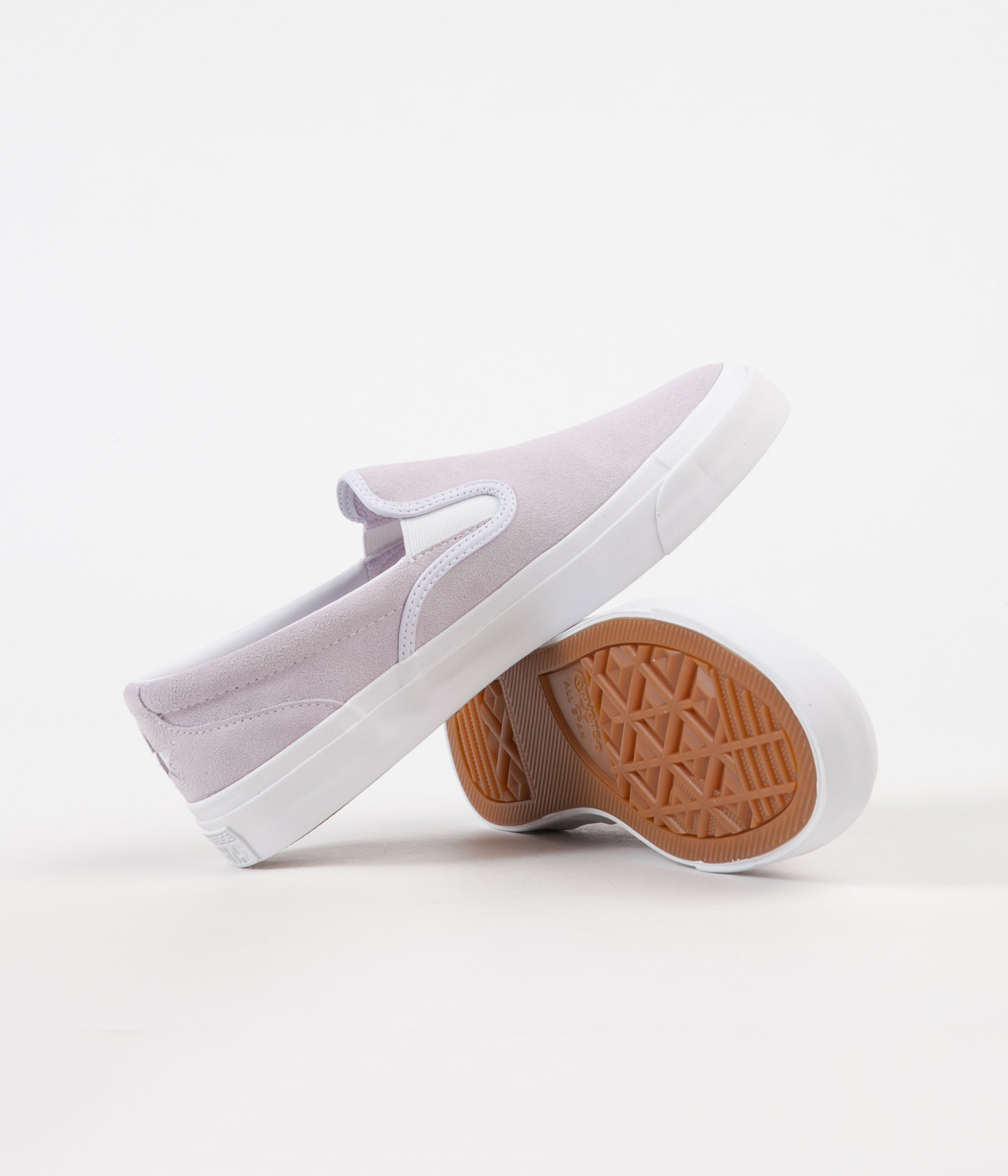 430bc937eb8b ... Converse One Star CC Slip On Shoes - Barely Grape   White   White ...