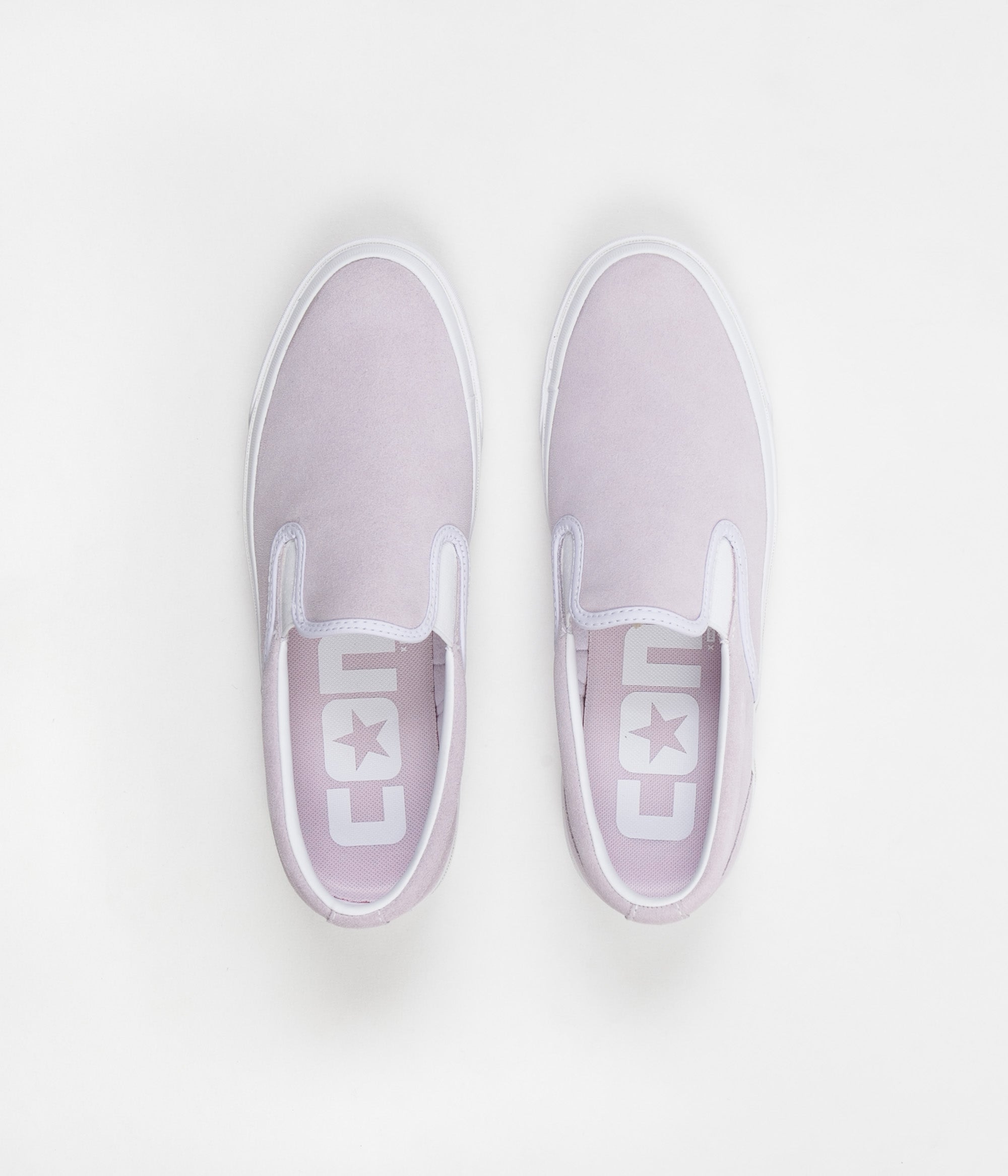 4b1e8a335f18 Converse One Star CC Slip On Shoes - Barely Grape   White   White ...