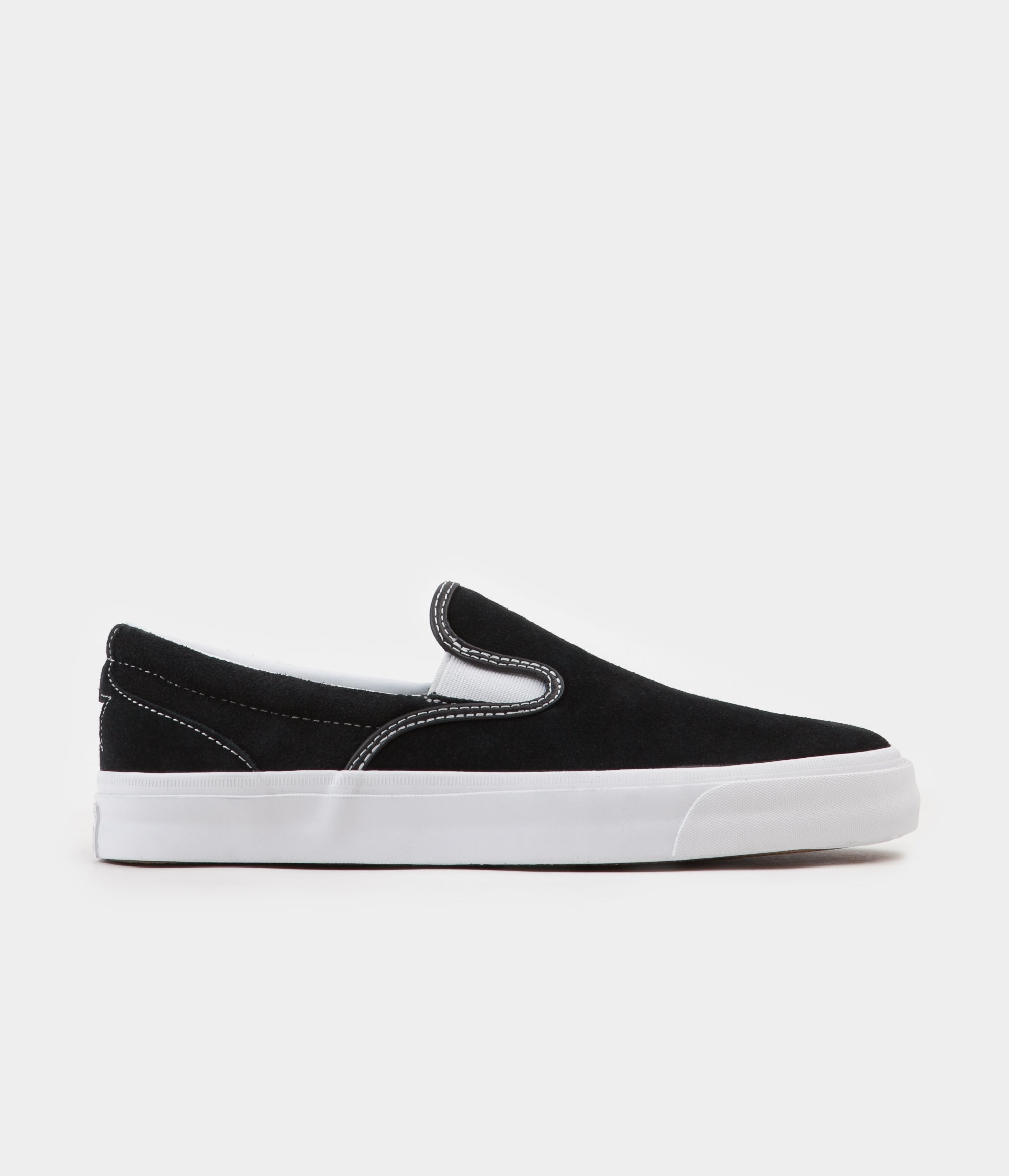 Converse One Star CC Slip On Shoes - Black   White   White  6bb6bd907e498
