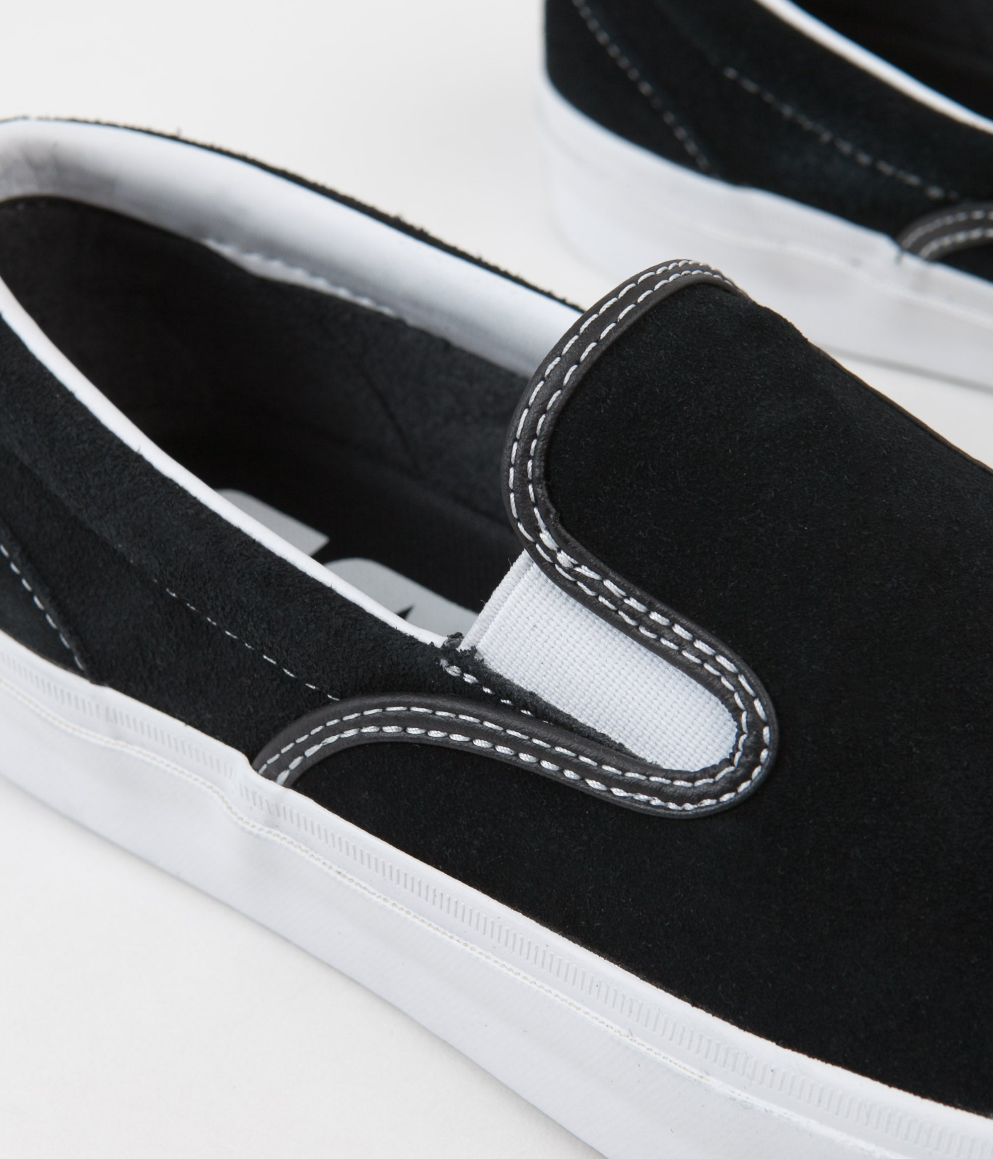 Converse One Star CC Slip On Shoes - Black / White / White