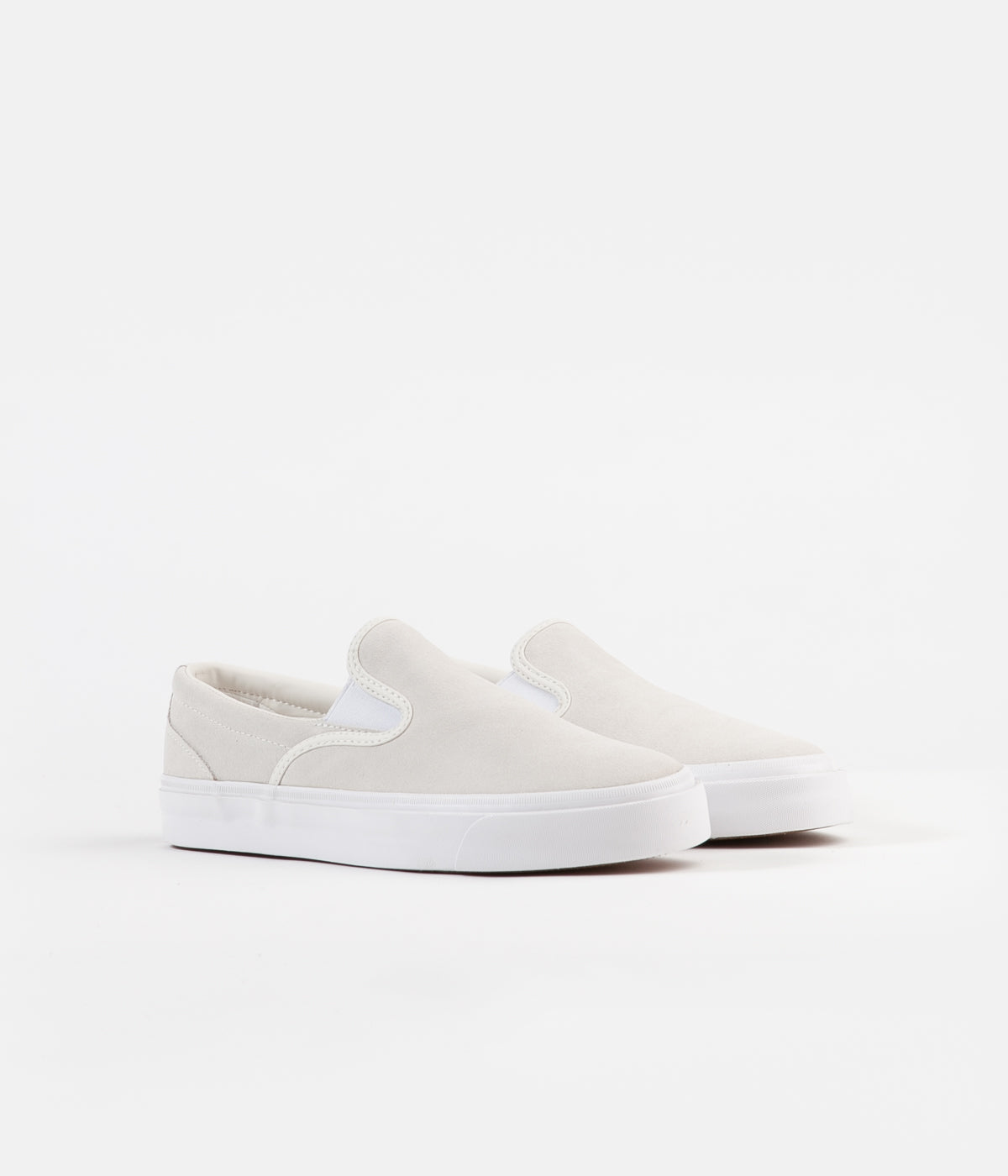 36174611115c ... Converse One Star CC Slip On Shoes - Egret   Navy   White ...