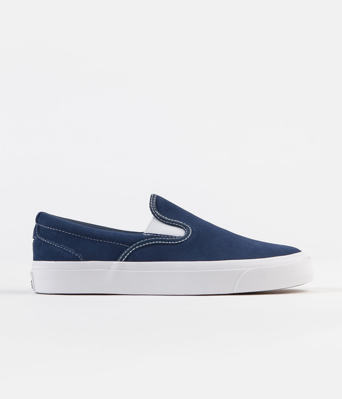 c97745076a5b ... Converse One Star CC Slip On Shoes - Navy   White   White ...