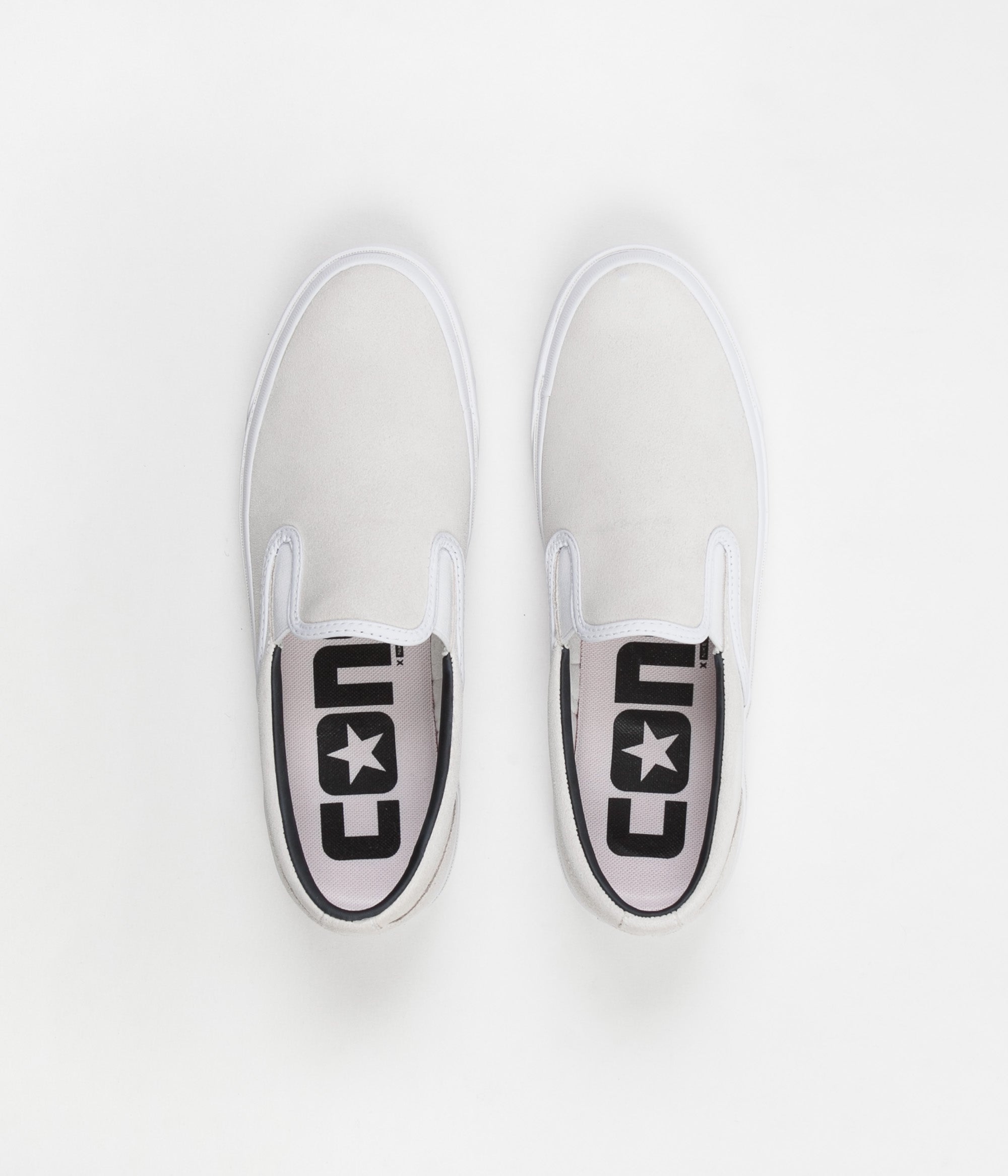 Converse One Star CC Slip On Shoes - White / Black / White