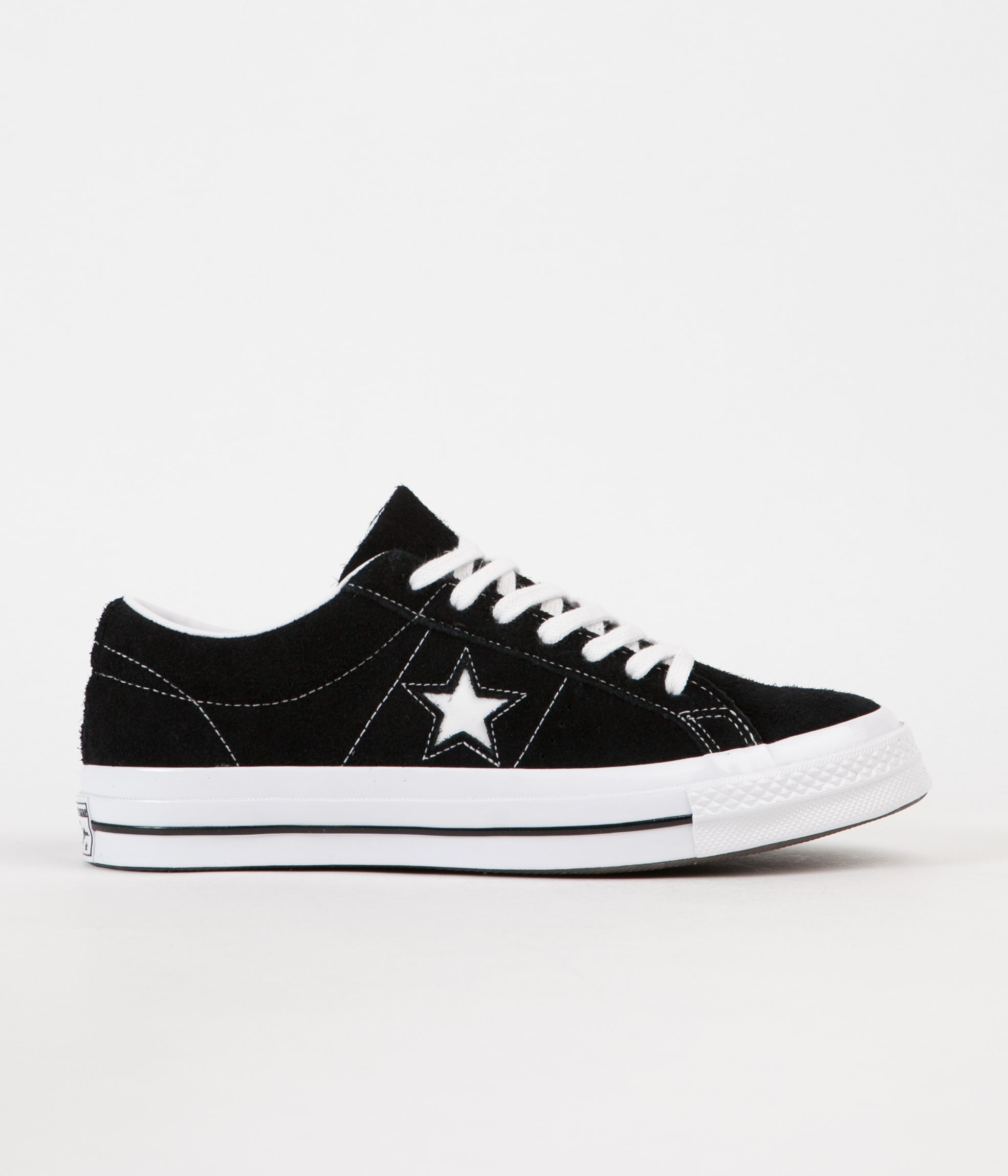 40fc39f9d3a8 Converse One Star Ox Shoes - Black   White   White