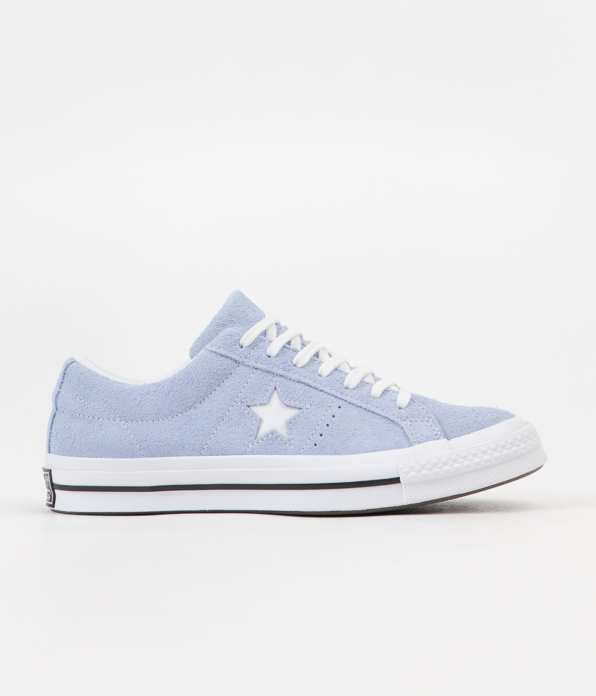 3ada33a46c2 Converse One Star Ox Shoes - Blue Chill   White   Black