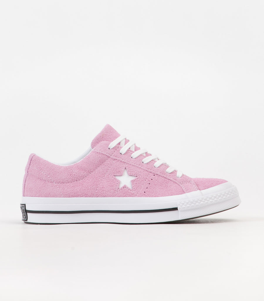 Star Ox Shoes - Light Orchid / White