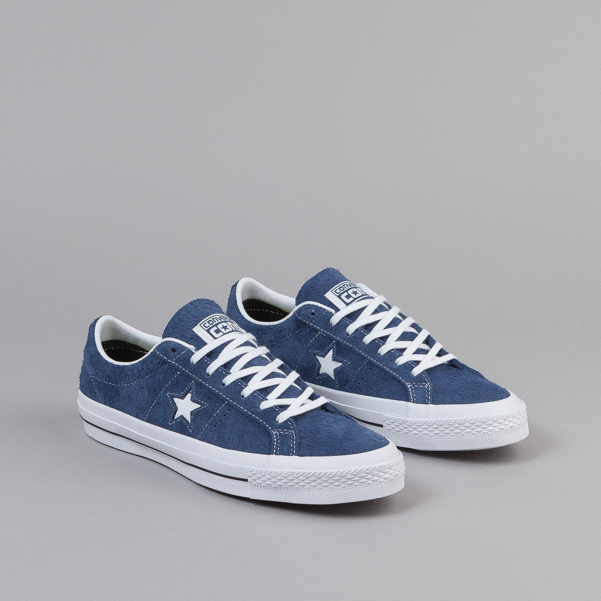 Converse One Star Ox Shoes Navy White Gum Flatspot