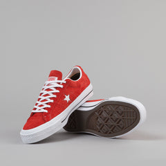 Converse One Star OX Shoes - Red / White / Gum