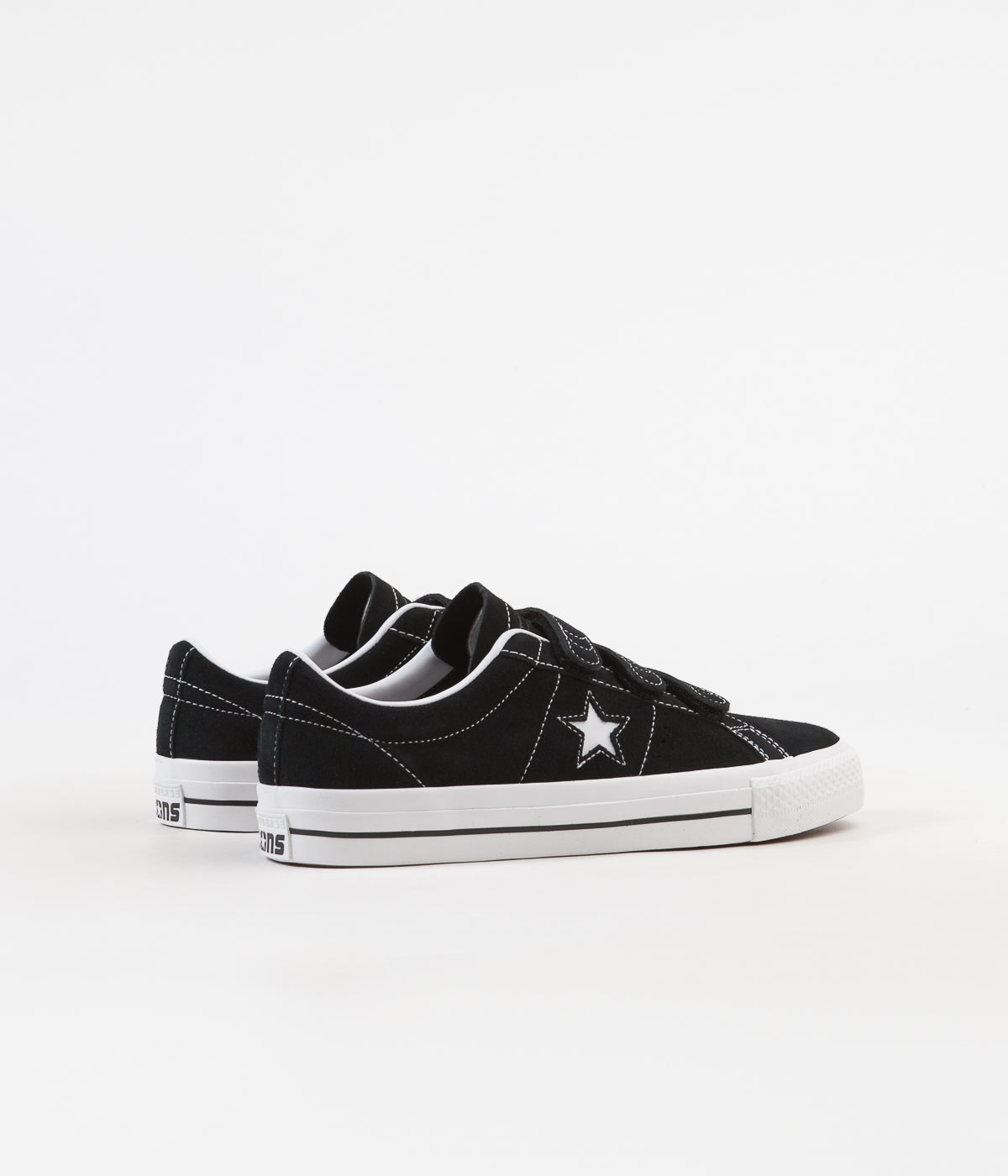 d0472cab26db ... Converse One Star Pro 3V Ox Shoes - Black   Pomegranate Red   White ...