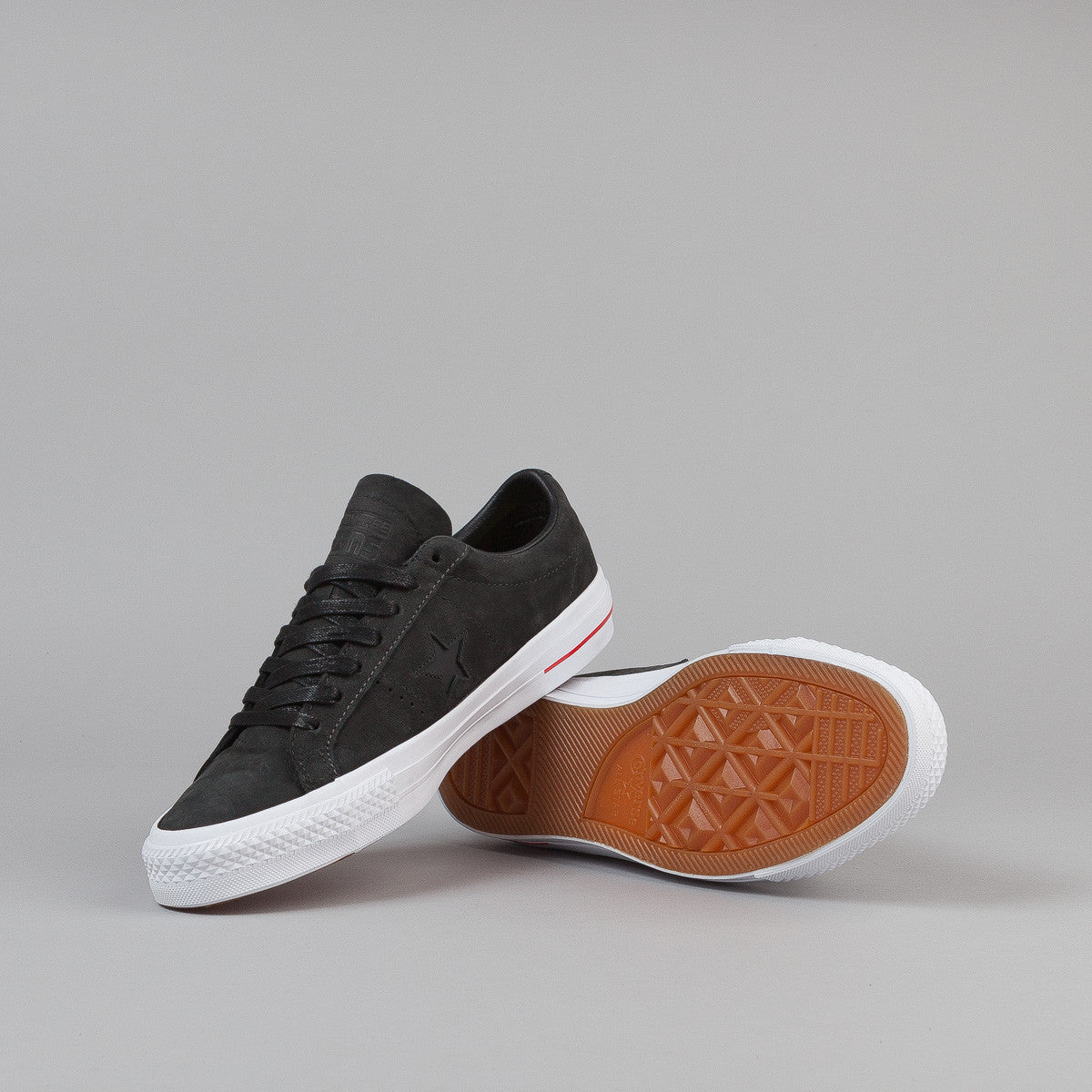 Converse One Star Pro Leather Shoes - Black