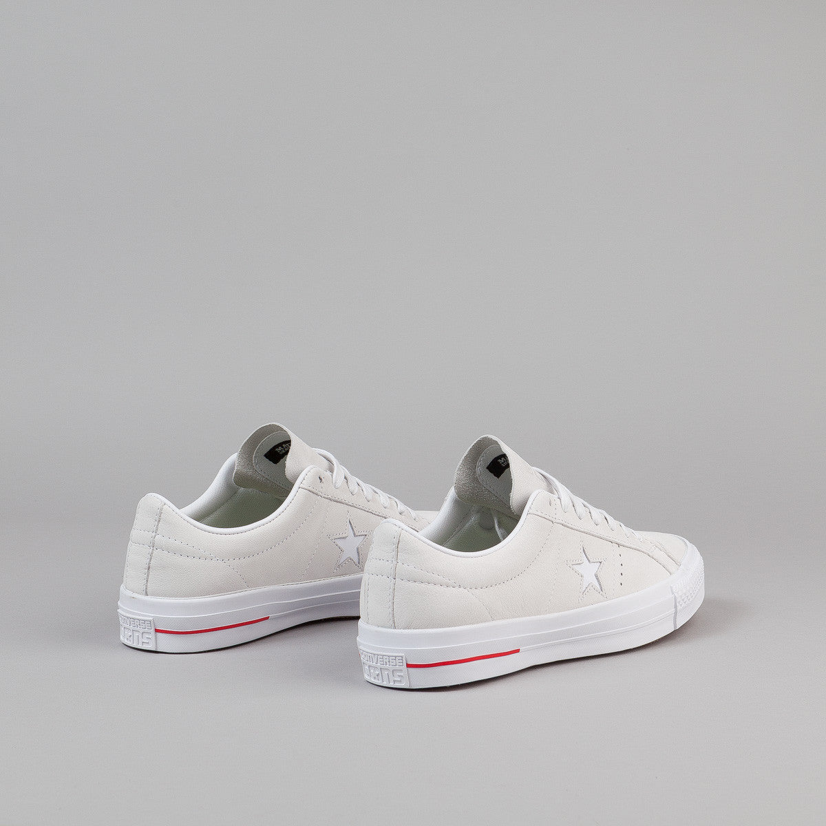 Converse One Star Pro Leather Shoes - White