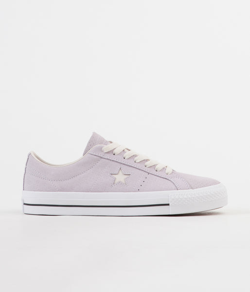 6305f6ac3567 Converse One Star Pro Ox Shoes - Barely Grape   Driftwood
