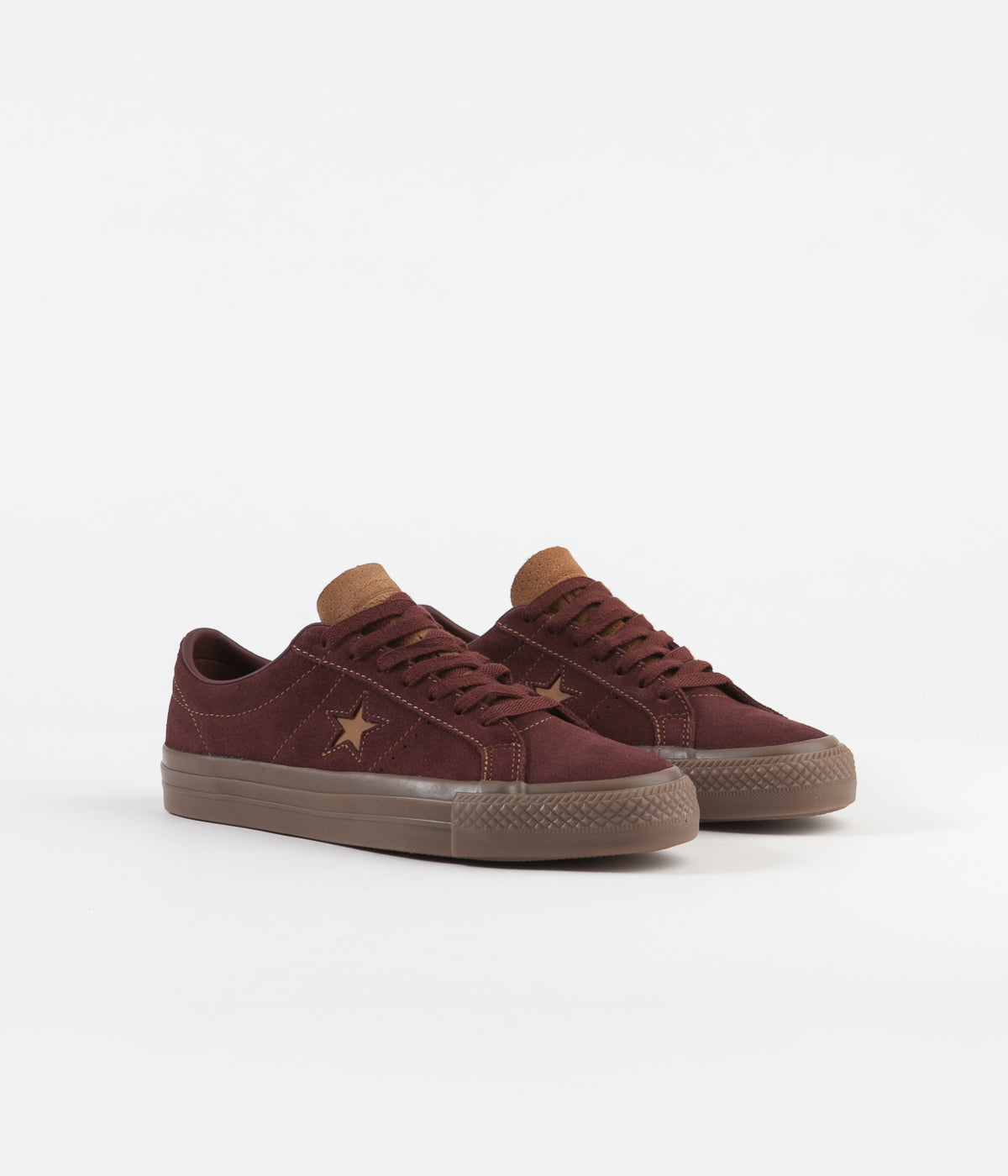 Converse One Star Pro Ox Shoes Barkroot Brown Ale Brown
