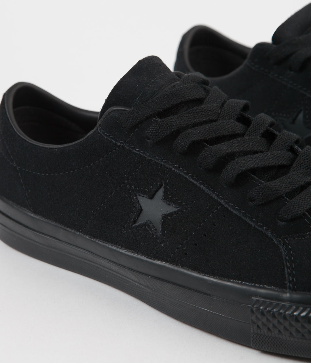 Converse One Star Pro OX Shoes  - Black / Black / Black