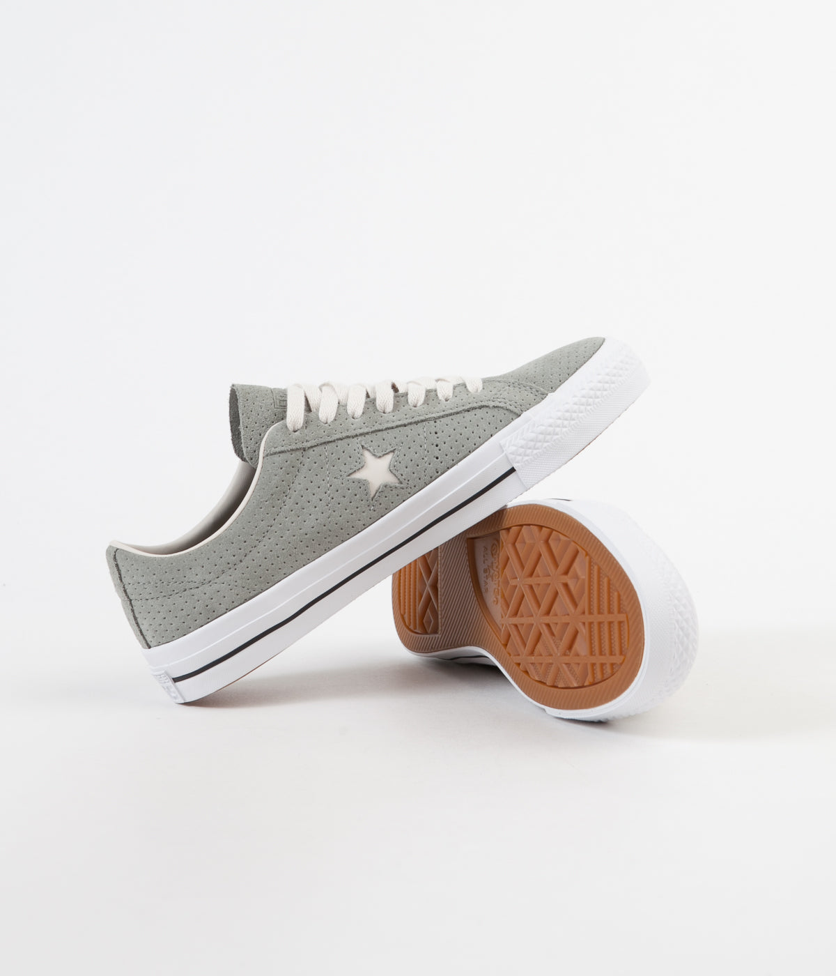 Converse One Star Pro Ox Shoes - Dark Stucco / Driftwood