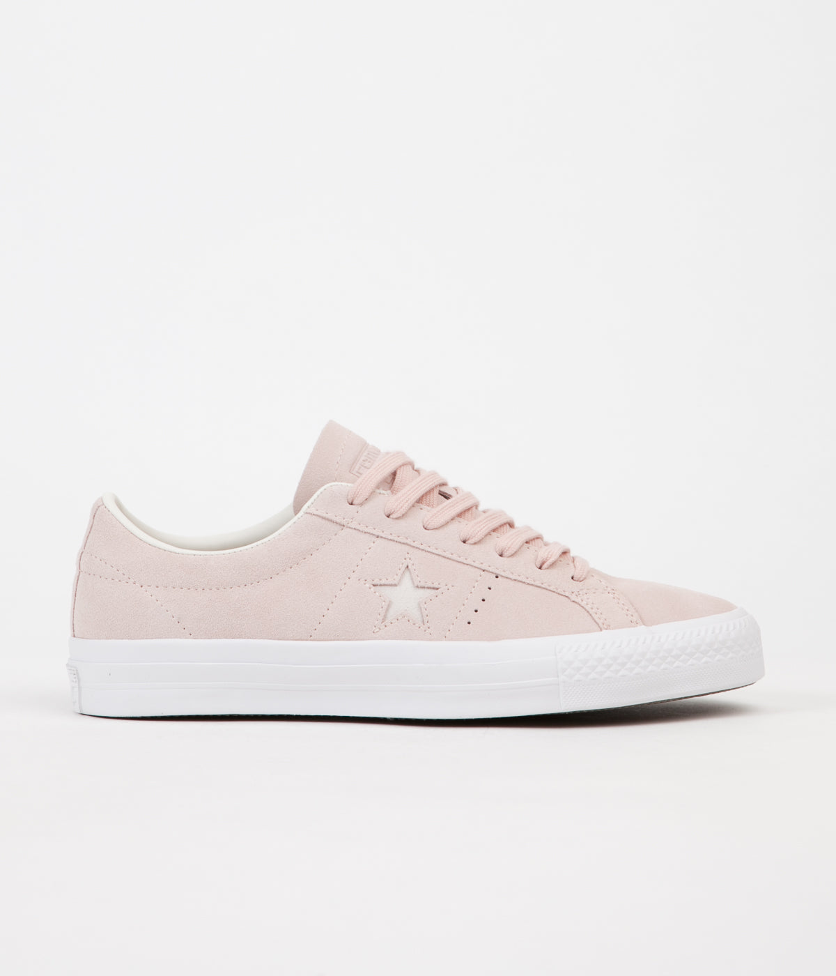 2293bb75a6f7 Converse One Star Pro Ox Shoes - Dusk Pink   Egret   White