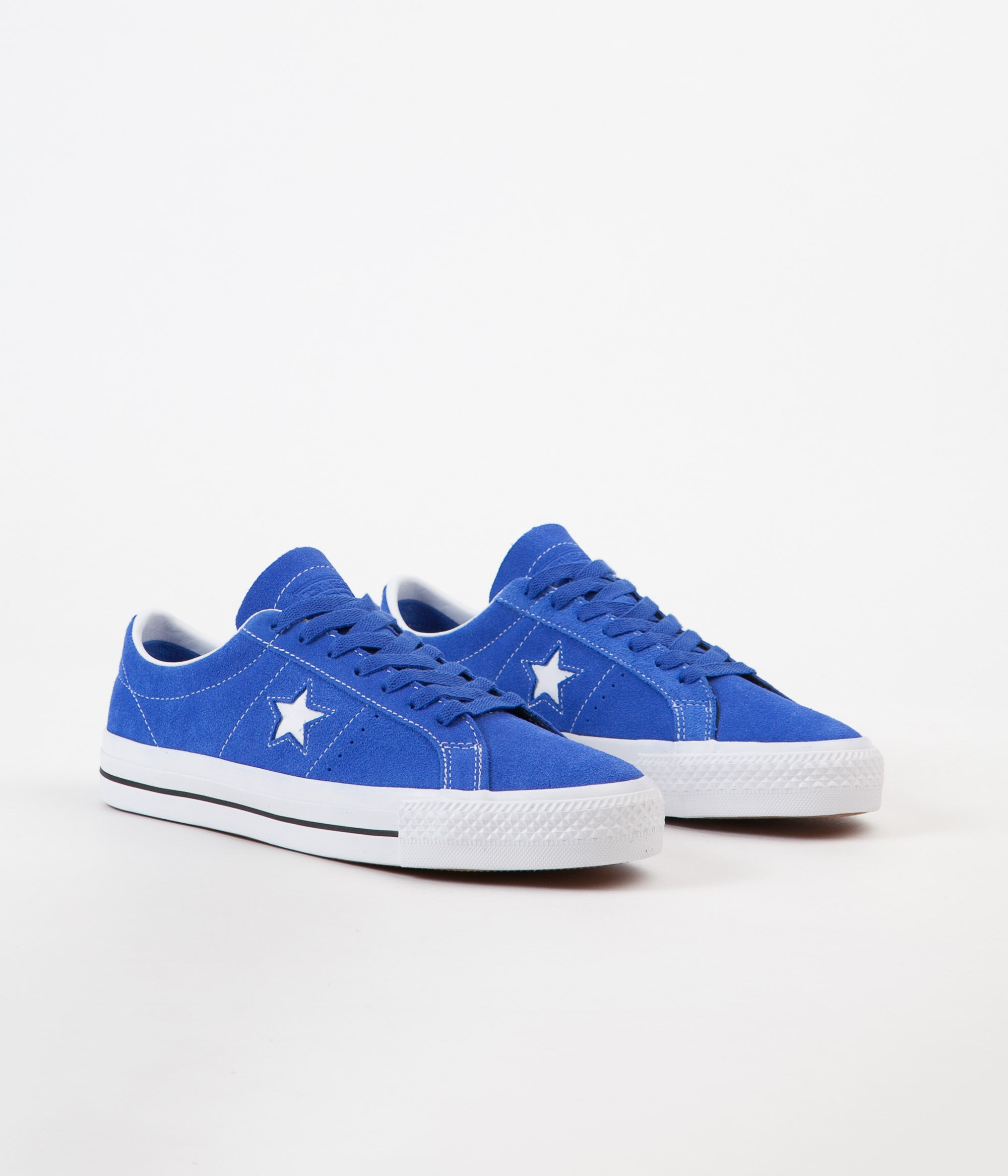 99f8f304fbadb8 ... Converse One Star Pro Ox Shoes - Hyper Royal   White   Black ...