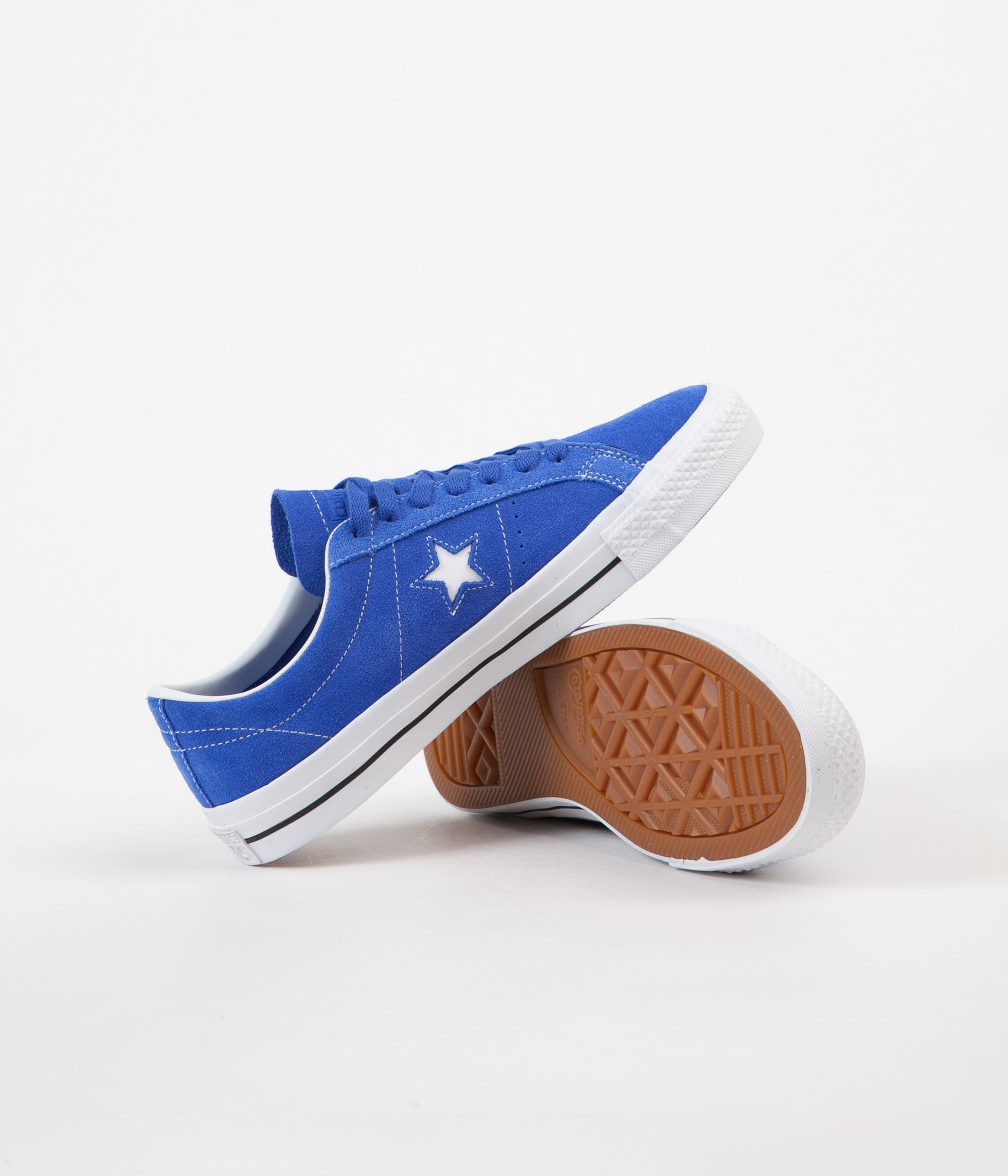 Converse CONS One One One Star Pro Ox Chaussure hyper royal Blanc Noir 4c7208