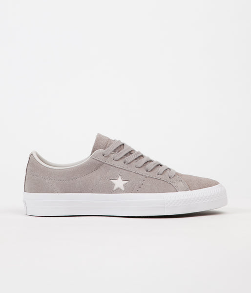 Converse One Star Pro Ox Shoes - Malted / Pale Putty / White