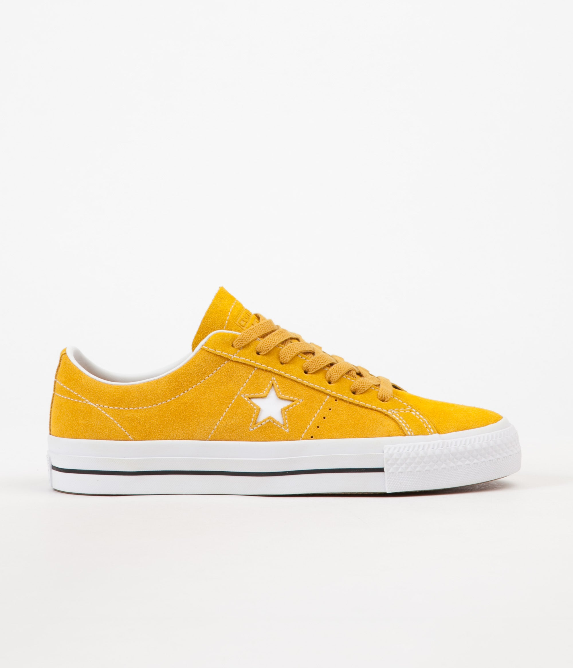 85af2b82cee268 Converse One Star Pro Ox Shoes - Mineral Yellow   White   Black ...