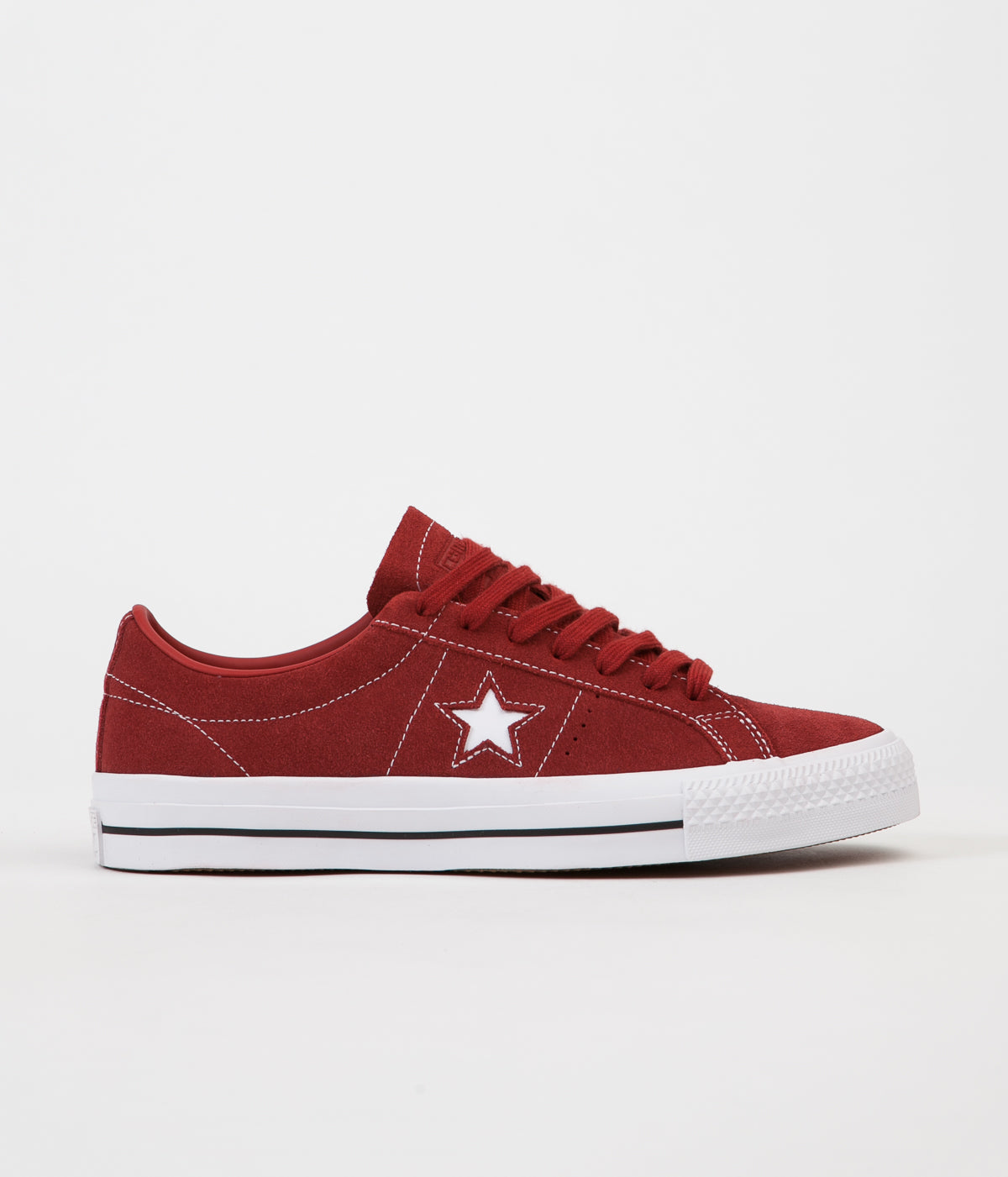 f57a840dccb3 ... Converse One Star Pro Ox Shoes - Terra Red   Terra Red ...