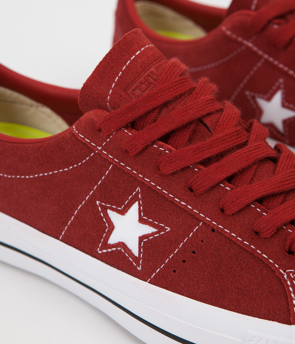 Converse One Star Pro Ox Shoes - Terra Red / Terra Red