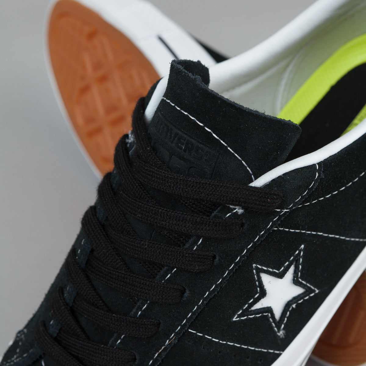 Converse One Star Pro Shoes - Black / White