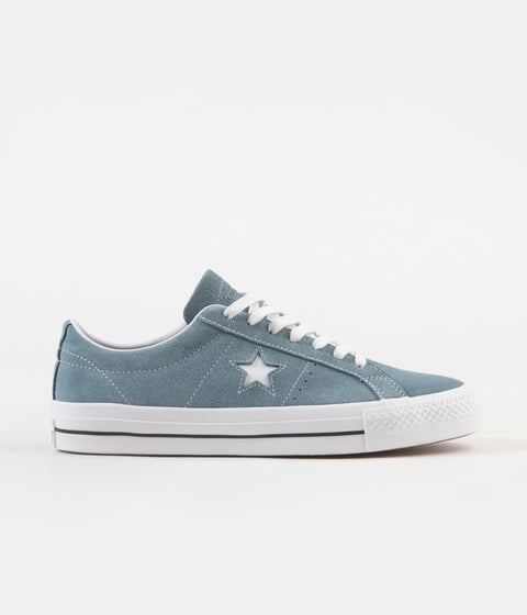 2a3bdb70b71 Converse One Star Pro Shoes - Celestial Teal   Black