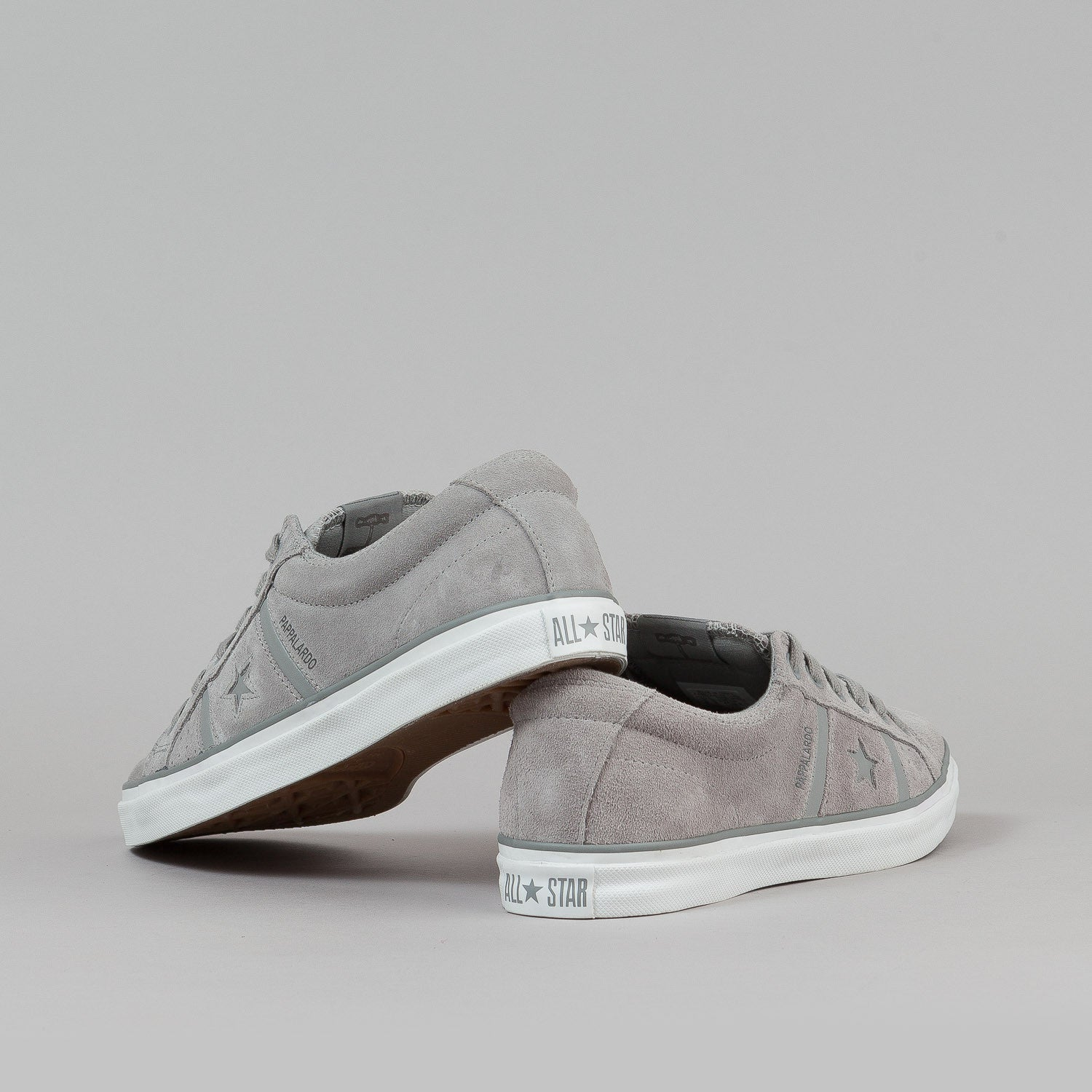 Converse Pappalardo OX Shoes - Grey Suede