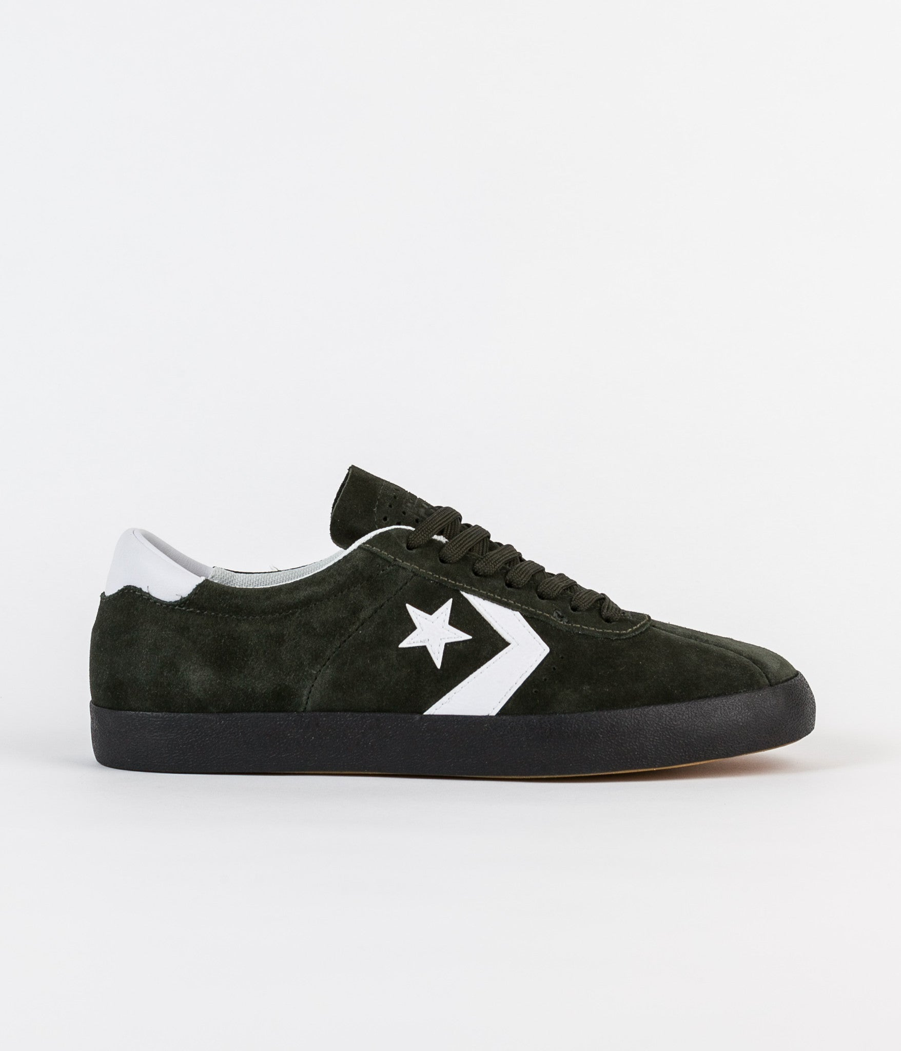 Converse Pro Ox Zered Bassett Breakpoint Shoes - Green Onyx / White / Black