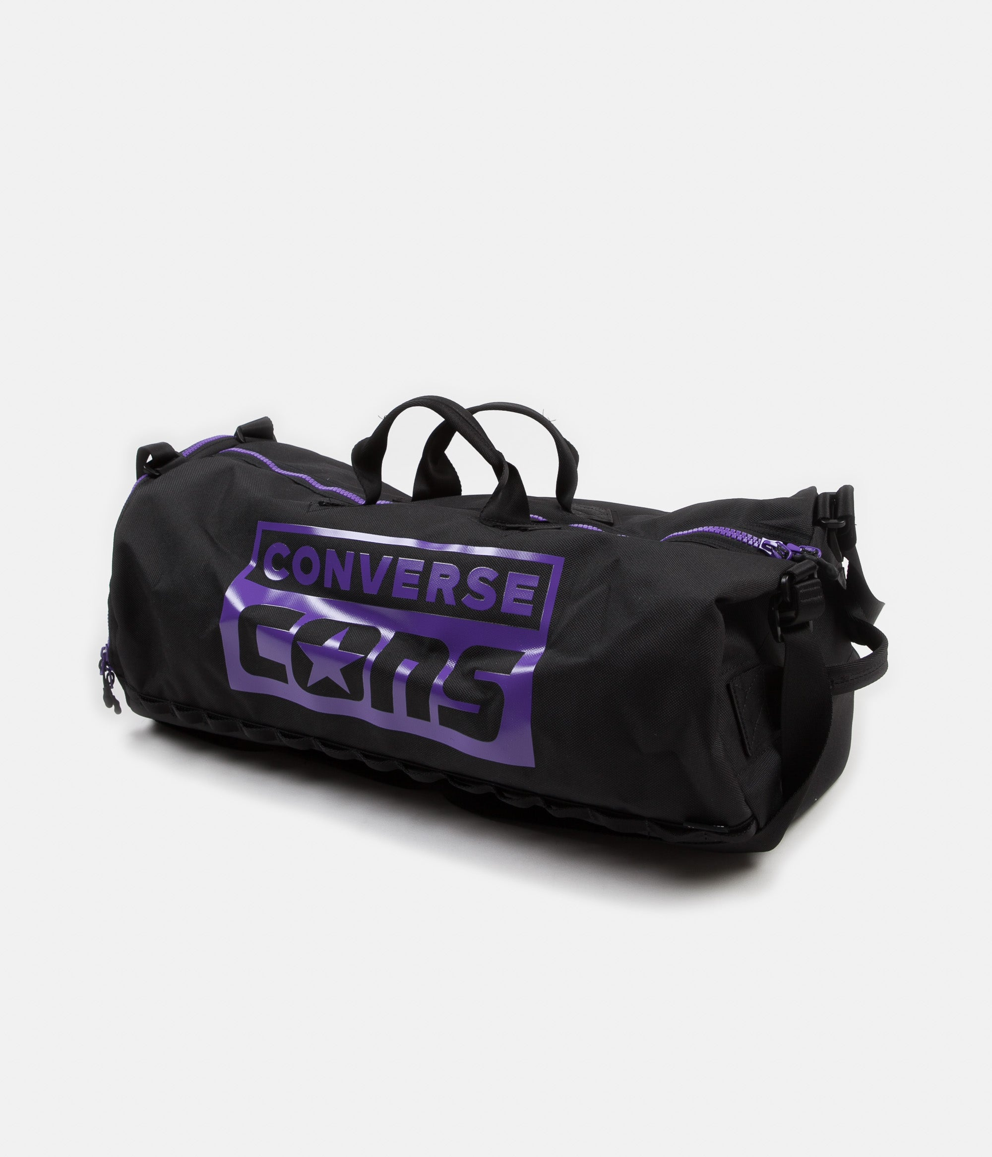Converse  Purple Pack  3 Way Duffel Bag - Black   Purple  473be10851d02