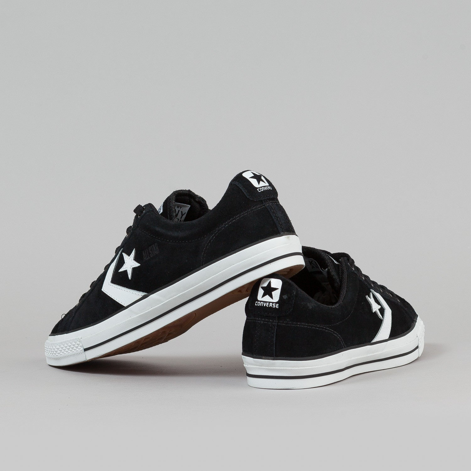 Converse Star Player LS OX Shoes - Black / White
