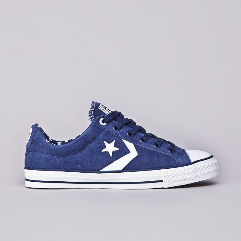 Converse Star Player Skate Ensign Blue / White