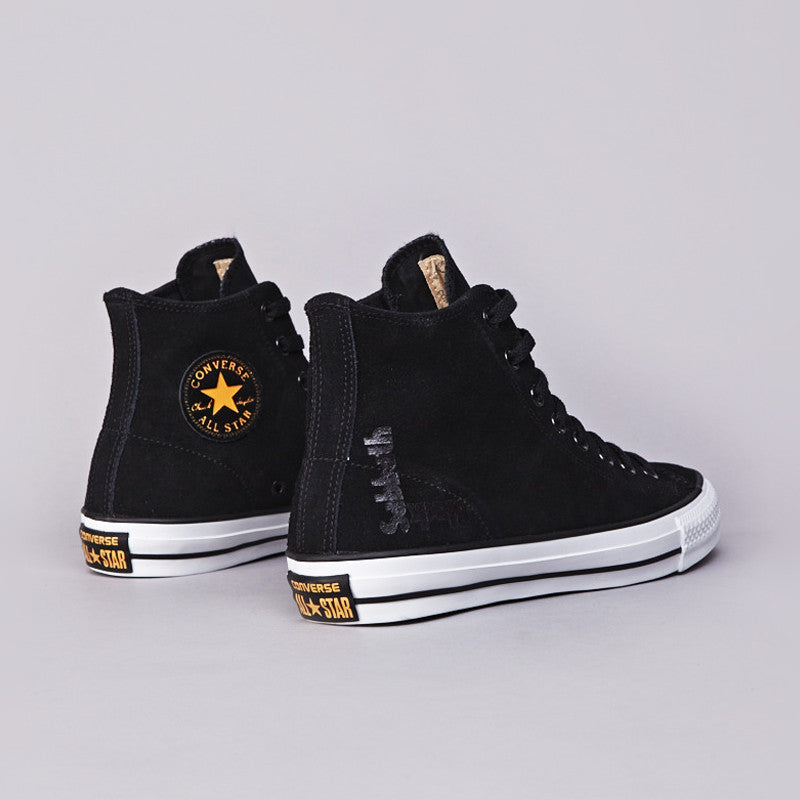Converse X Black Sabbath CTAS Pro Hi Black / White / Gold