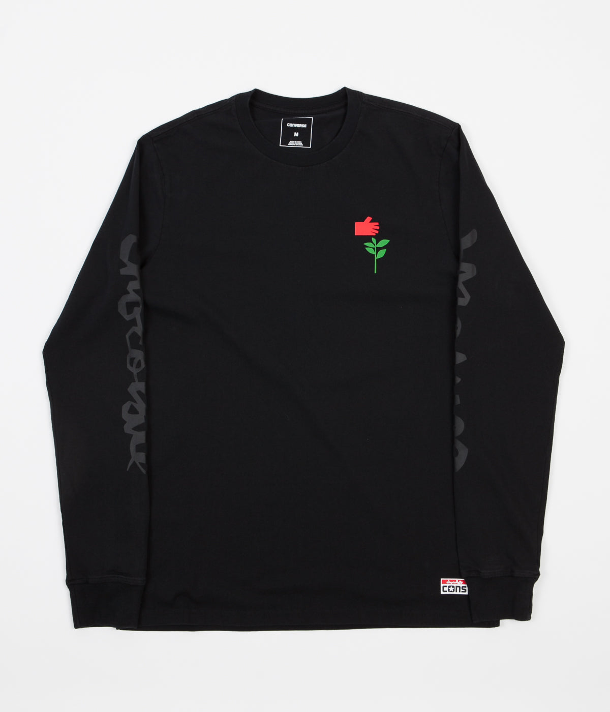 Converse x Chocolate Long Sleeve T-Shirt - Black
