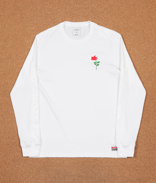Converse x Chocolate Long Sleeve T-Shirt - White