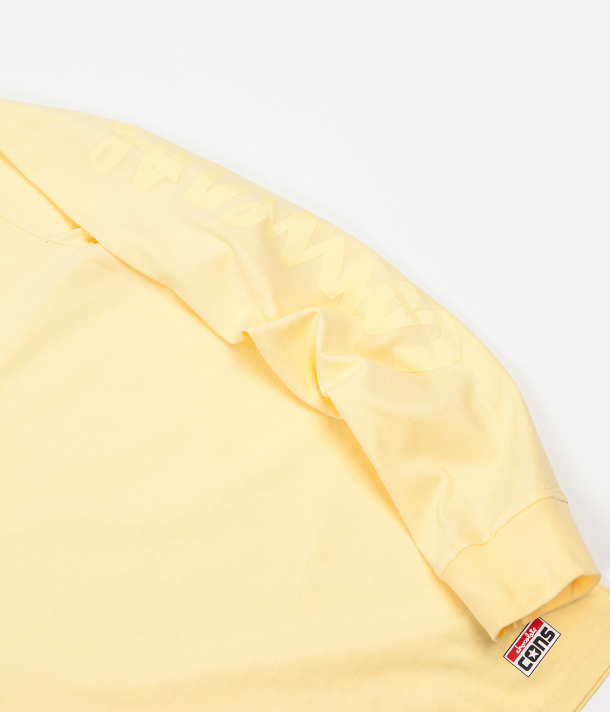 Converse x Chocolate Long Sleeve T-Shirt - Yellow